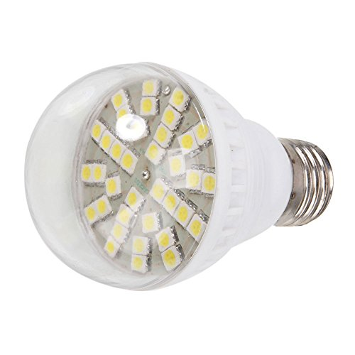 5.4W 12V 450Lm 6000K Indoor & Outdoor Light Bulb Lamp Bulb With 36 Pcs Led, White