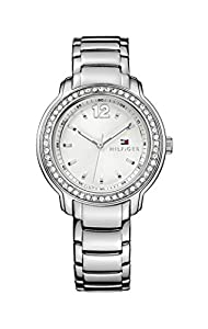 Tommy Hilfiger Callie Women's Quartz Watch with Silver Dial Analogue Display and Silver Stainless Steel Bracelet 1781469