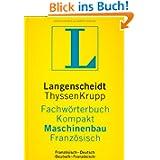 Langenscheidt Fachwörterbuch Kompakt Maschinenbau, Französisch