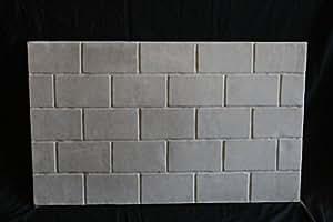 Replacement Refractory Panel Brick Pattern 24 X 42 X Medium Brick