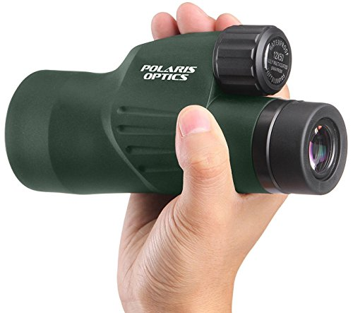 Cheapest Prices! Polaris Optics Nature 10X50 Wide View Bird Watching Monocular. Brightest, Clearest....