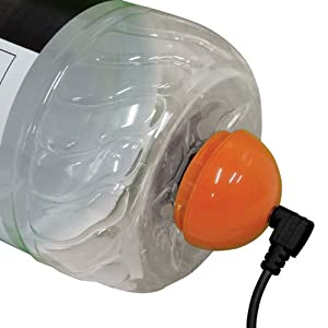 Mighty Boom Ball Orange Vibration Speaker on sale