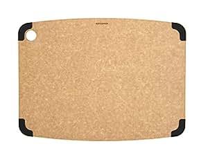 Epicurean Non-Slip Series Cutting Board, 17.5-Inch by 13-Inch, Natural/Slate