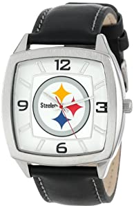 NFL Mens NFL-RET-PIT Retro Series Pittsburgh Steelers Watch by Game Time