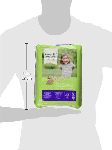 Seventh Generation Free & Clear Diapers, Size 6, 20 ct