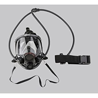 Series Continuous Flow Airline 7600 Full Face Respirator Mask Size Small