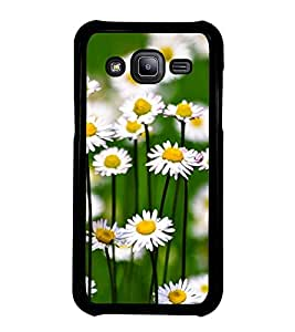 Fuson Premium 2D Back Case Cover Floral Pattern With Multi Background Degined For Samsung Galaxy J2::Samsung Galaxy J2 J200F