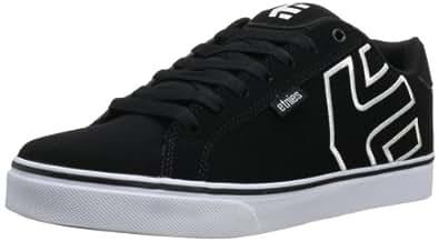 Etnies Men's Fader Vulcanized Skate Shoe,Black/White/Gum,5 D US