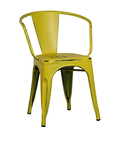 SuperStudio Set Silla 2 Uds. Moskov Vintage Colors Amarillo