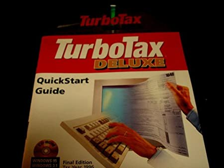 TurboTax Deluxe Final Edition Tax Year 1996