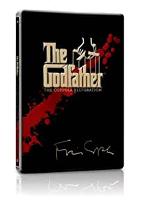 The Godfather Trilogy : Remastered Collection - Limited Edition Steelbook Metal Packaging (Exclusive To Amazon.co.uk) [1971] [DVD]