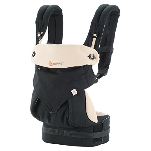 Ergobaby Four Position 360 Baby Carrier Black/Camel (Ergo Baby Carrier Four Position compare prices)