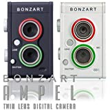 BONZART AMPEL two eye digital miniature photo diorama photos retro camera (White) From import JPN