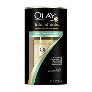 Olay Total Effects 7-in-1 Anti-Aging Daily Moisturizer, 1.7 Ounce