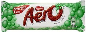 Nestle Aero Mint Chocolate-pack 4 Bars