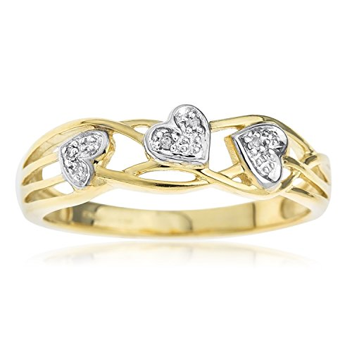 Ornami Glamour 9ct Yellow Gold Ladies' Celtic