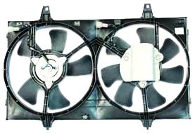 TYC 620050 Nissan Maxima Replacement Radiator/Condenser Cooling Fan Assembly (Nissan Maxima For Sale compare prices)