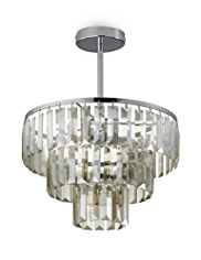 Flush Prism Pendant Ceiling Light