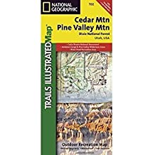 National Geographic Maps Trails Illustrated Map Cedar Mountain / Ashdown Gorge