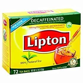 Lipton&reg; Tea Bags and Hot Cider - Decaffeinated Tea 72 6 (LIP290) by Lipton