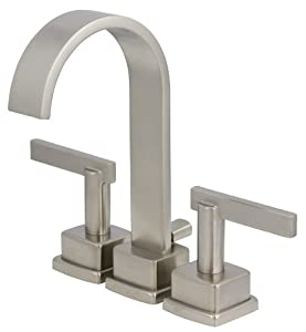 Schon SCL450SN 2 Handle Minispread Lavatory Faucet Satin