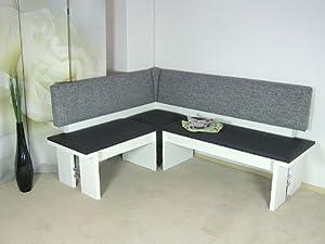 moderne eckbank weiss sitzecke esszimmer k che melamin design hochwertig neu k che. Black Bedroom Furniture Sets. Home Design Ideas