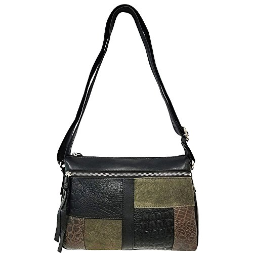 great-american-leatherworks-mixed-media-leather-top-zip-crossbody