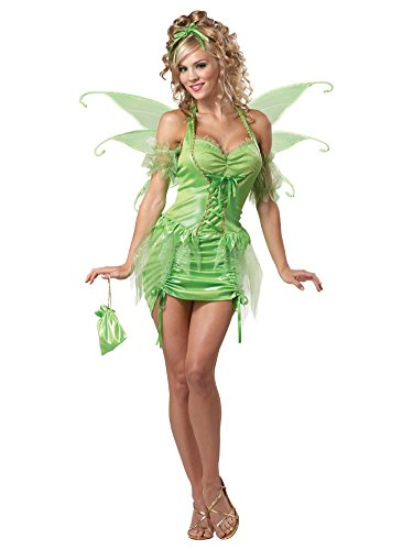 California Costumes Eye Candy Womens Tinkerbell Fairy Costume Medium (8-10)
