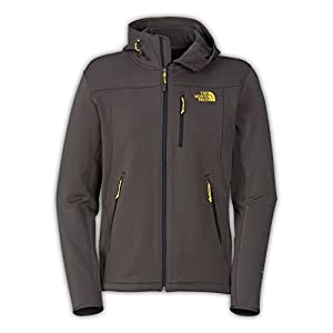 The North Face Momentum Hoodie Men's Black Ink Green S