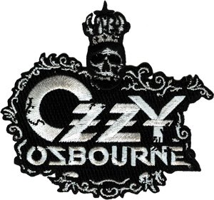 Application Ozzy Osbourne Crown Patch