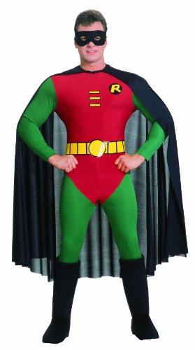 Rubie's Costume Classic Batman Deluxe Robin, Red/Green Costume - S, M or L