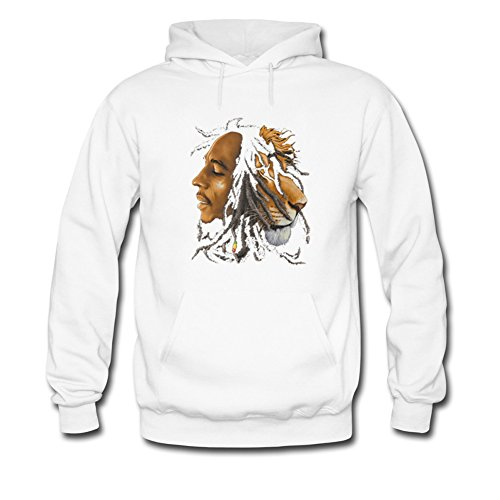 Bob Marley Lion Profile For Boys Girls Hoodies Sweatshirts Pullover Outlet