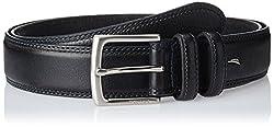 Nautica Men's Leather Belt (11NUE2X0400TB_Black) (8907259555058)