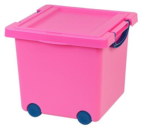 IRIS Toy Storage Box, Pink (Pink Storage compare prices)