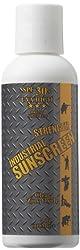 Industrial Sunscreen SPF30 Broad Spectrum 80 Min. Water Resistance Zinc Oxide Formulation 4 oz.