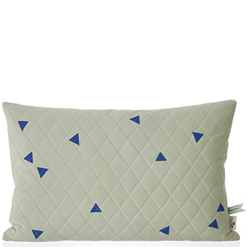 Teepee Quilted Cushion - Mint