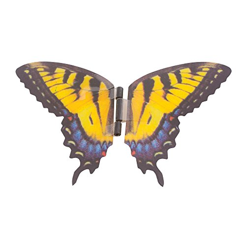 My Butterfly Collection Animated Butterfly in a Jar Yellow Swallowtail Figurine (Kids In A Jar compare prices)