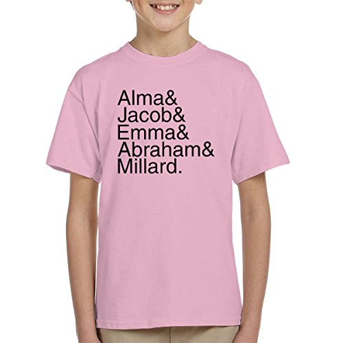 Character Names Miss Peregrine's Home for Peculiar Children Kid's T-Shirt
