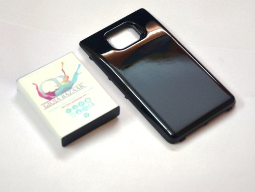 Gioiabazar 3500mAh Extended Battery(With Cover Case for SamSung Galaxy S2 II i9100)