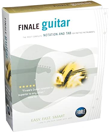 Finale Guitar 2003