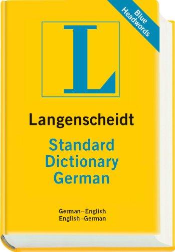 Langenscheidt Standard Dictionary German German English English German 130 000 references English and German Edition