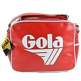 Gola Red White Redford Retro Shoulder Record Bag