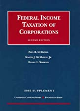 Federal Income Taxation of Business Organizations Supplement by Paul R. McDaniel