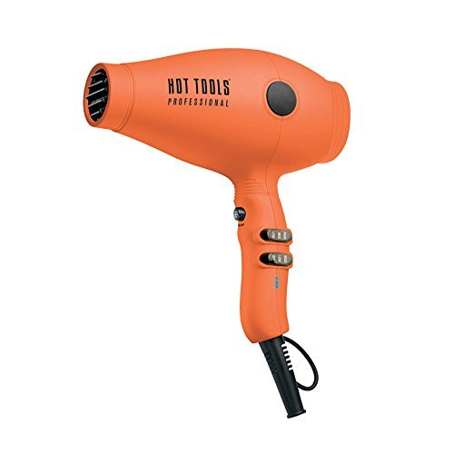 HOT TOOLS Tourmaline Tools 2100 Turbo IONIC Dryer Orange HT7014DOR (Tourmaline Hair Dryer Hot Tools compare prices)