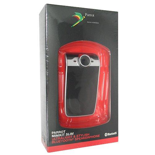 Parrot Minikit Slim Sun Visor Portable Bluetooth Hands Free Car Kit Speakerphone in Retail Packaging