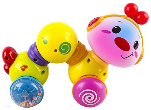 WolVol-Press-And-Crawl-Inchworm-Baby-Toy-with-Lights-and-Music-Batteries-Included