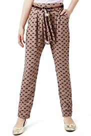 Autograph Cat Print Trousers [T74-3003F-S]