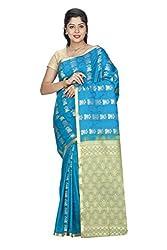 Srinidhi Silks Blue Silk Sari (Ssi sarr 2270)