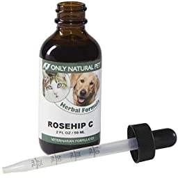 Only Natural Pet Rosehip C Herbal Formula 2 oz