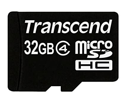 Transcend-32GB-MicroSDHC-Class-4-Memory-Card-(With-Adapter)